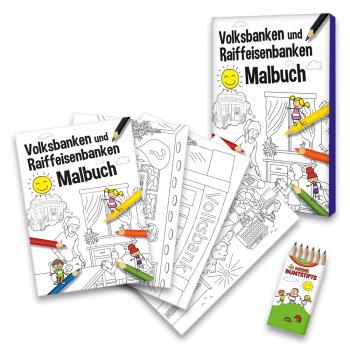 Volksbank-Raiffeisenbanken Malbuch