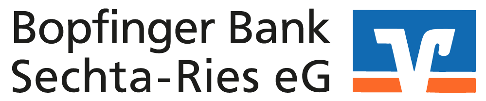 Materialbestellung Bopfinger Bank-Logo